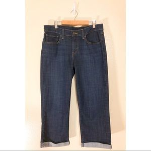 LEVI'S women's cropped jeans